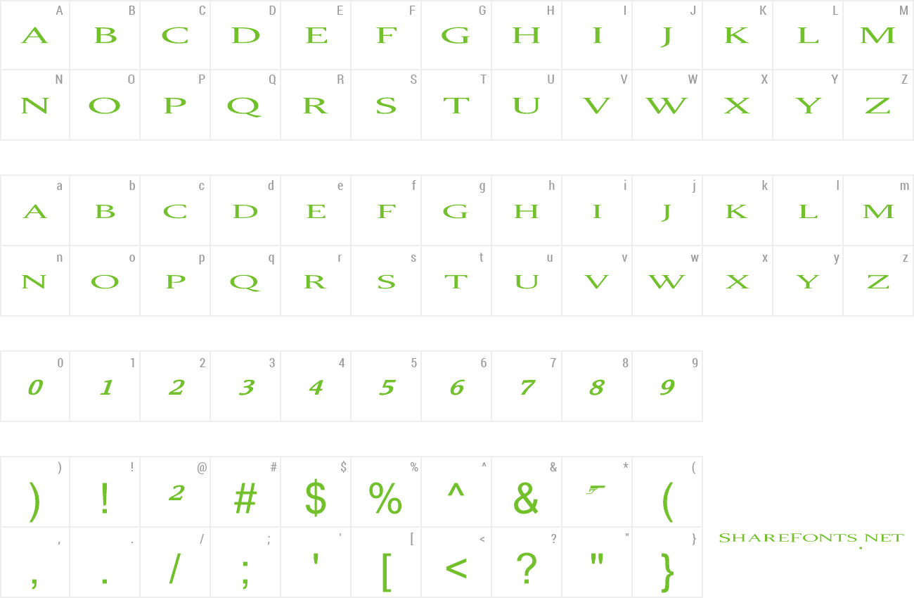 Font 007 Golden Eye preview