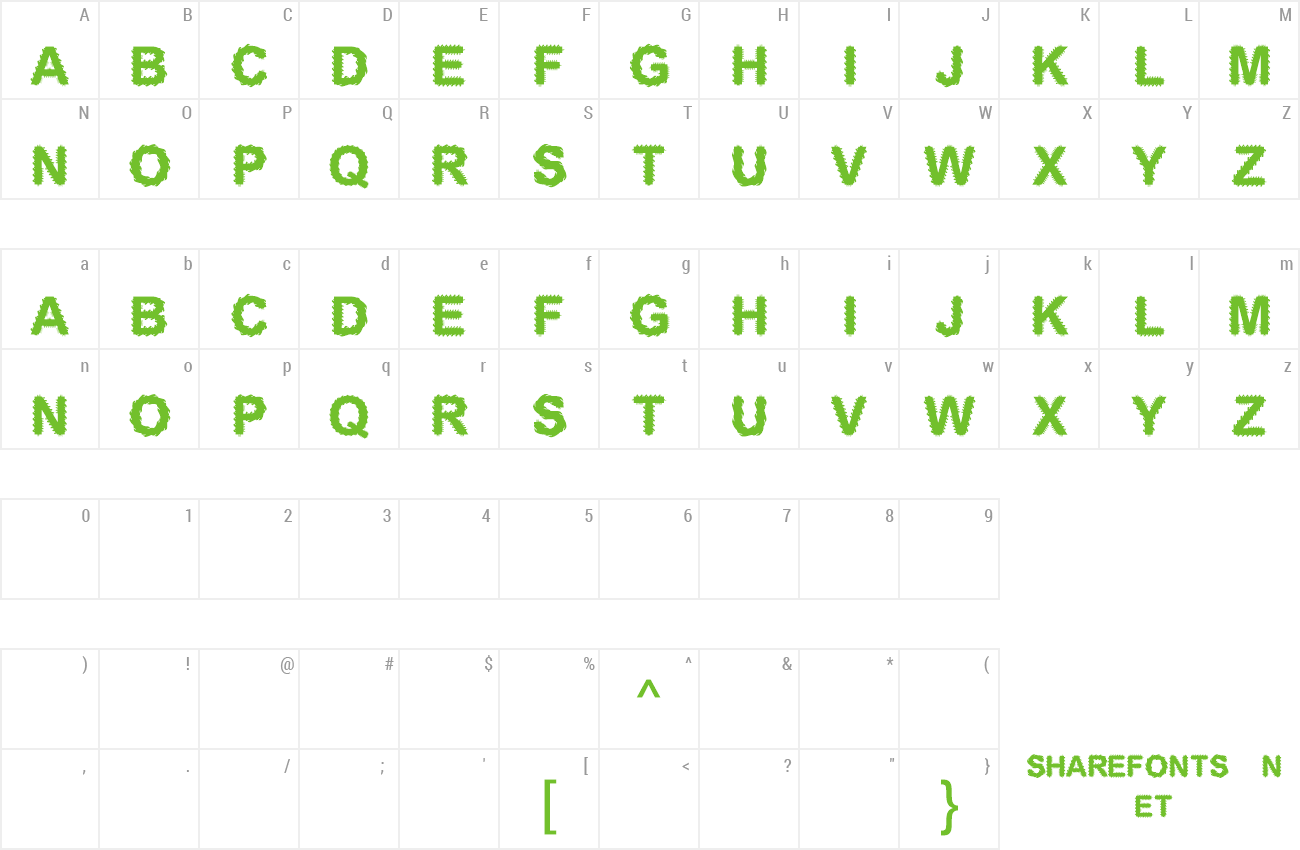 Font Electronic Board preview