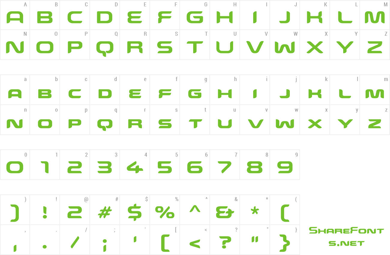 snowslider font
