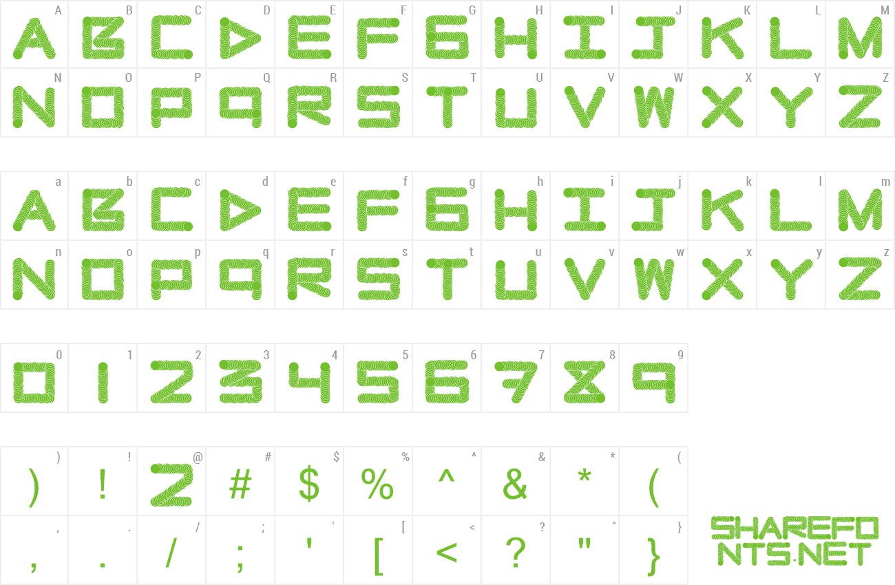 Font Naughty Pipe preview