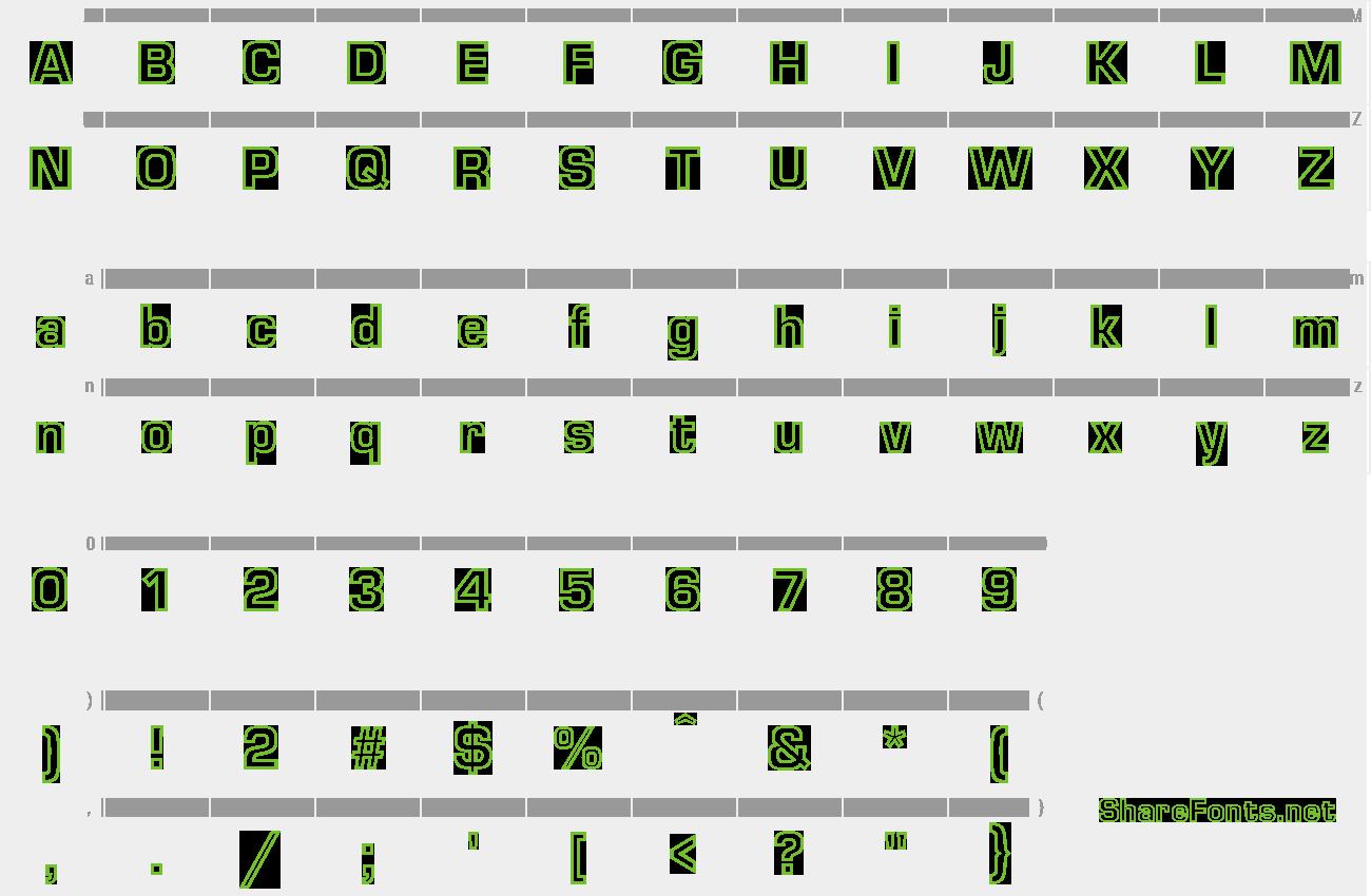 Download Free Font EuropaOutline