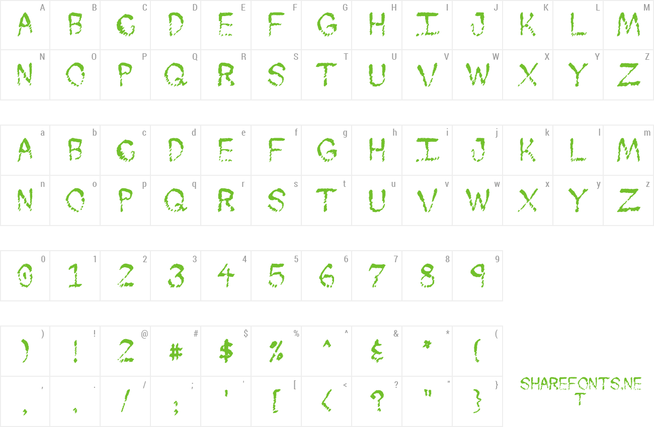 Font Skuntch preview