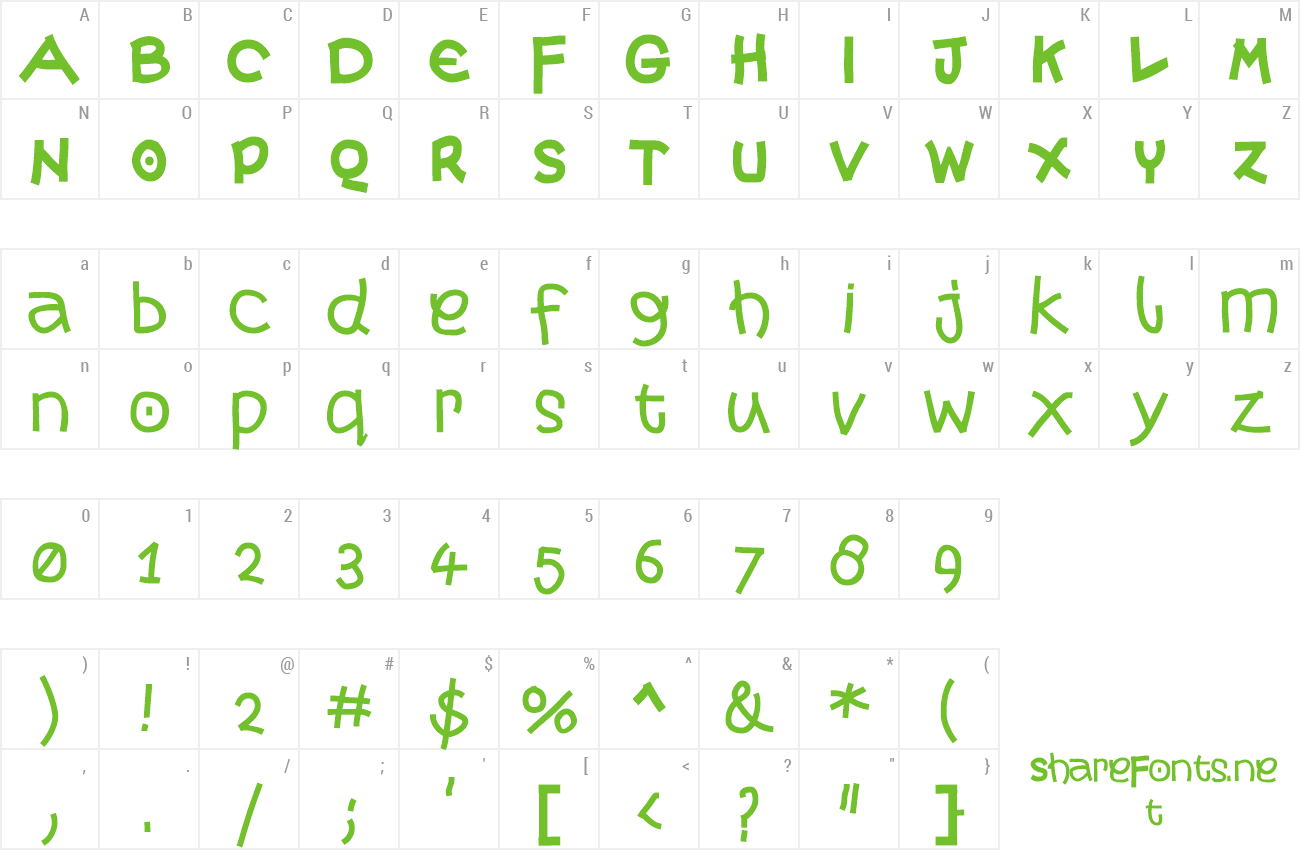 Font More Monk preview