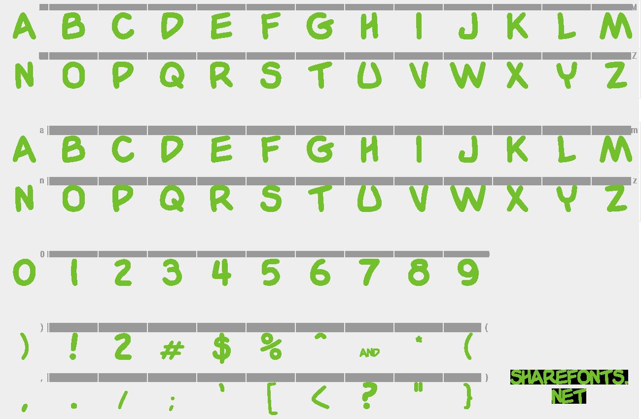 Download Free Font Garfield