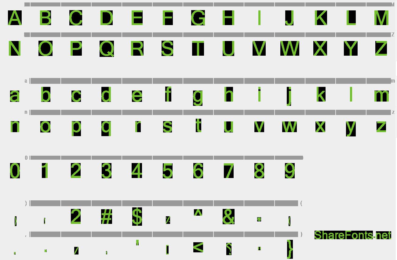 Download Free Font Hesham Bold
