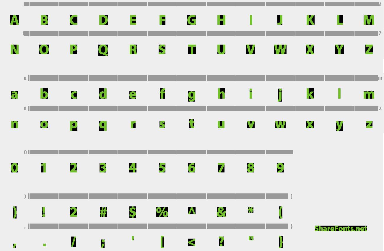 Download Free Font Bahij Myriad Arabic