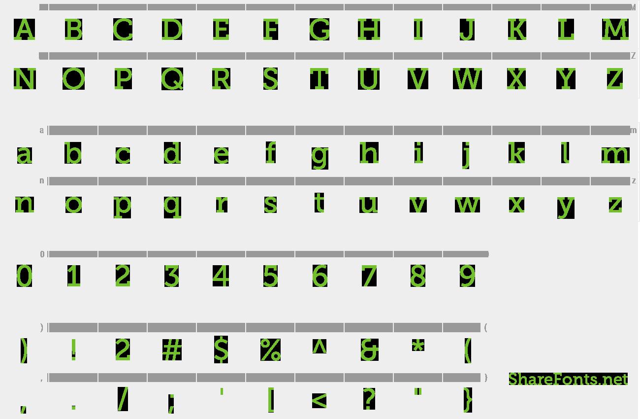 Download Free Font Museo Slab