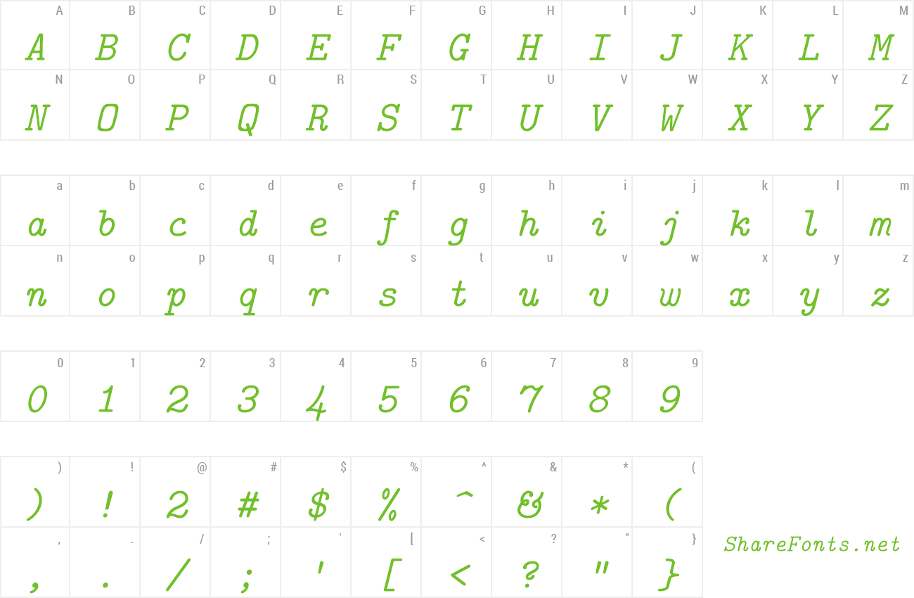 Download Free Font Latin Modern Mono