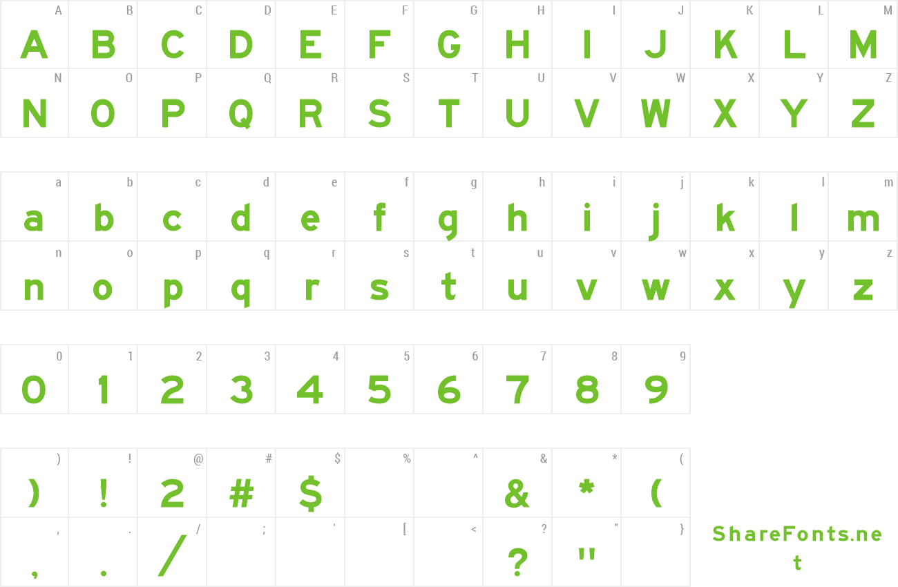 Font Roadgeek 2000 Series E (Modified) preview