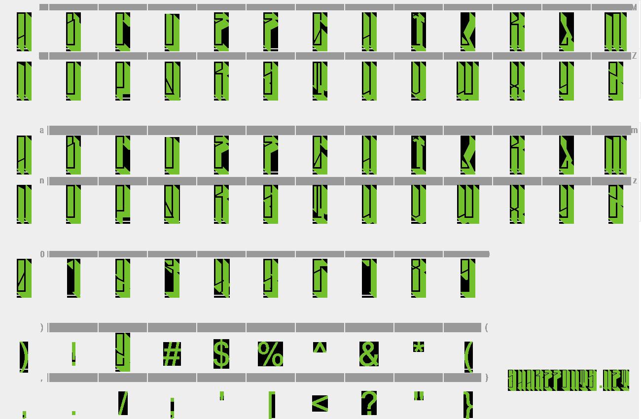 Download Free Font Tall Boy 3D