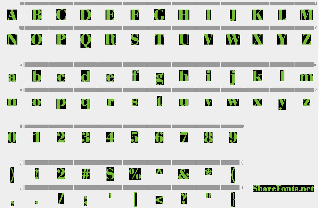 Download Free Font Bauer Bodoni Std 2