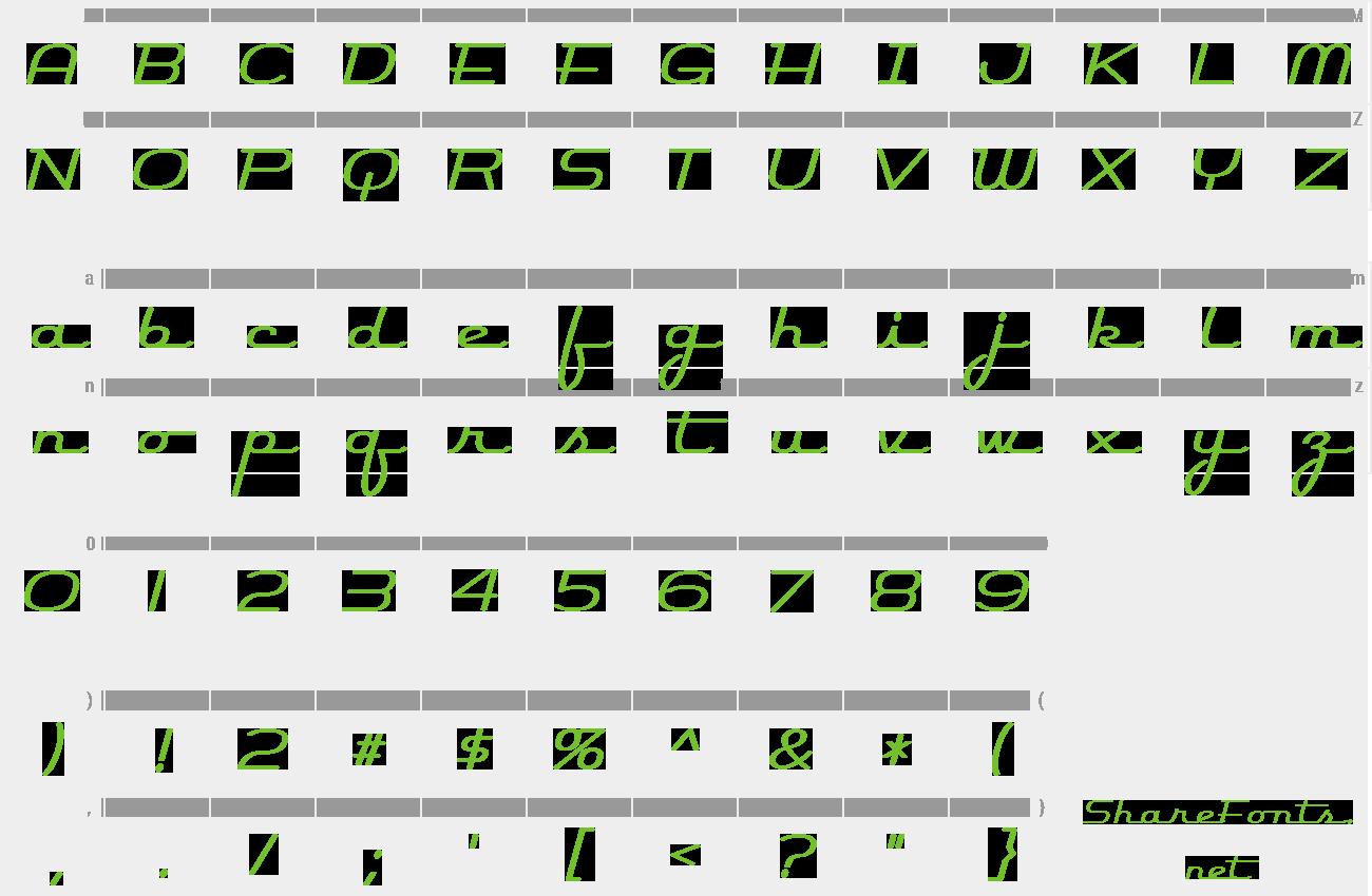Download Free Font Rocket Script
