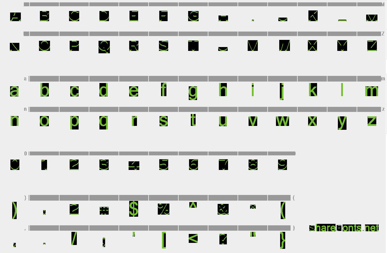 Download Free Font UGO 3D COLOR