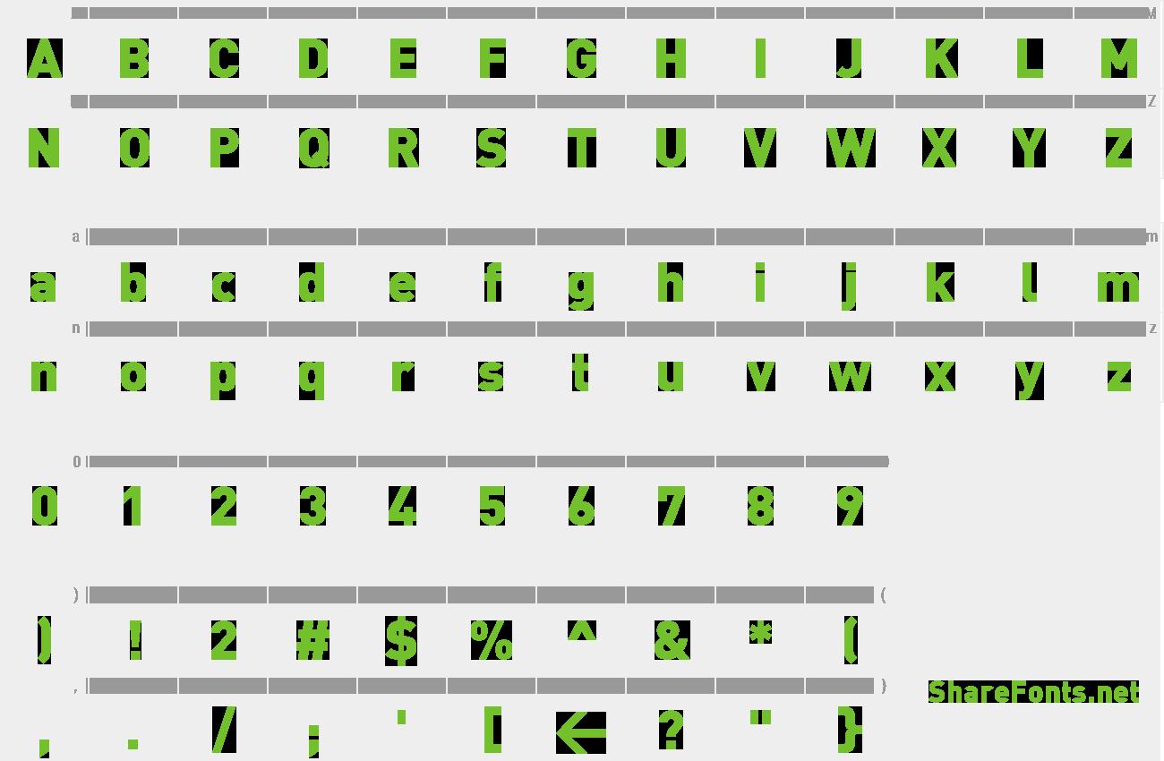 Download Free Font DIN-Black