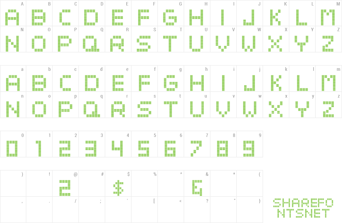 Font Beato ExtBd Head preview