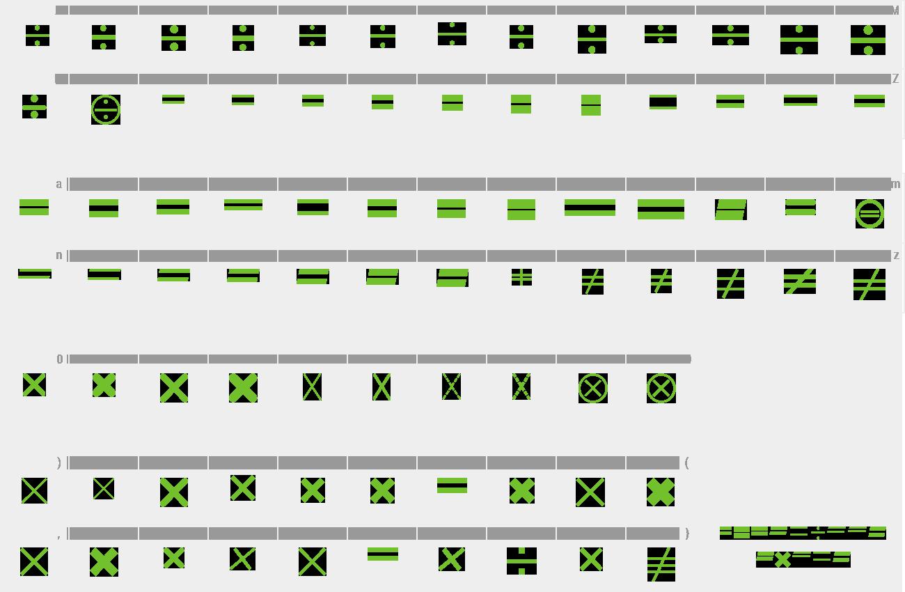 Math Symbol Font Ttf