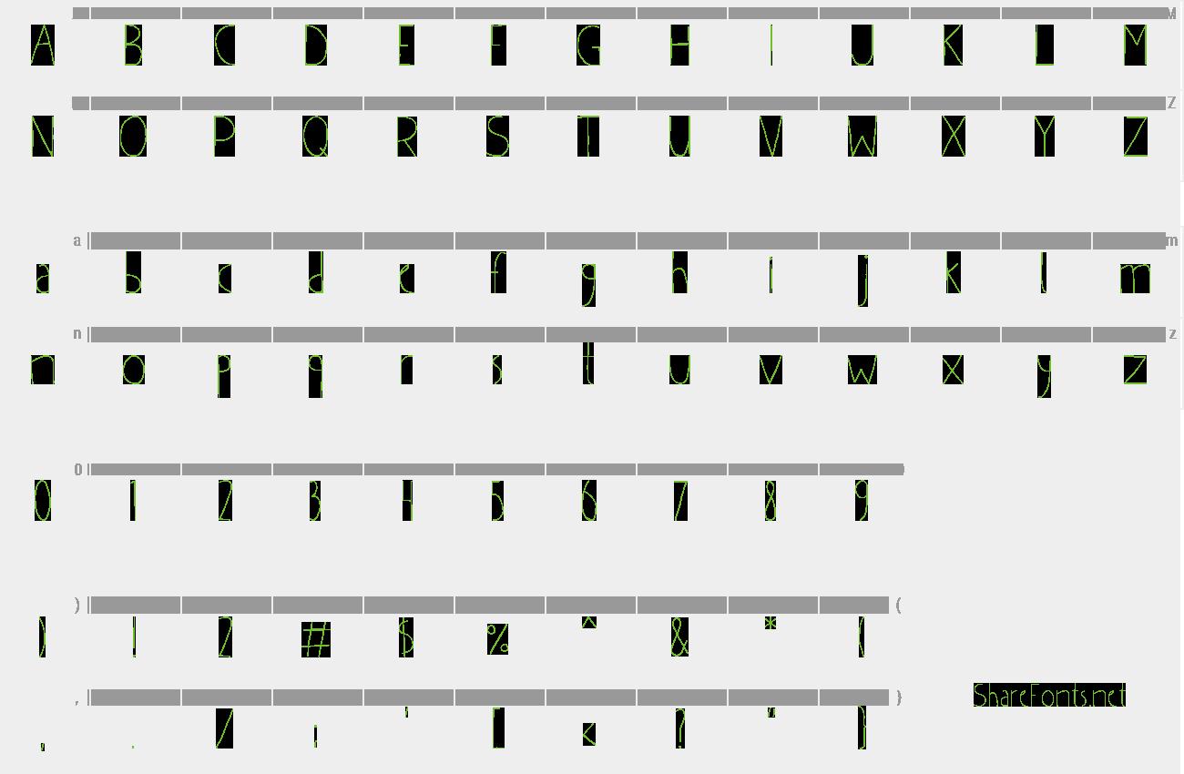Download Free Font Bul'ka