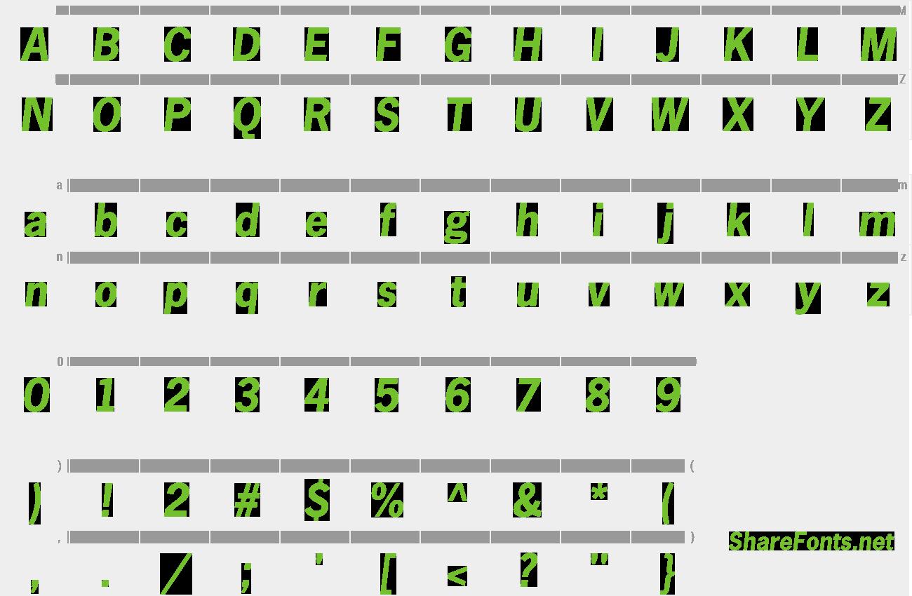 news gothic font free download mac