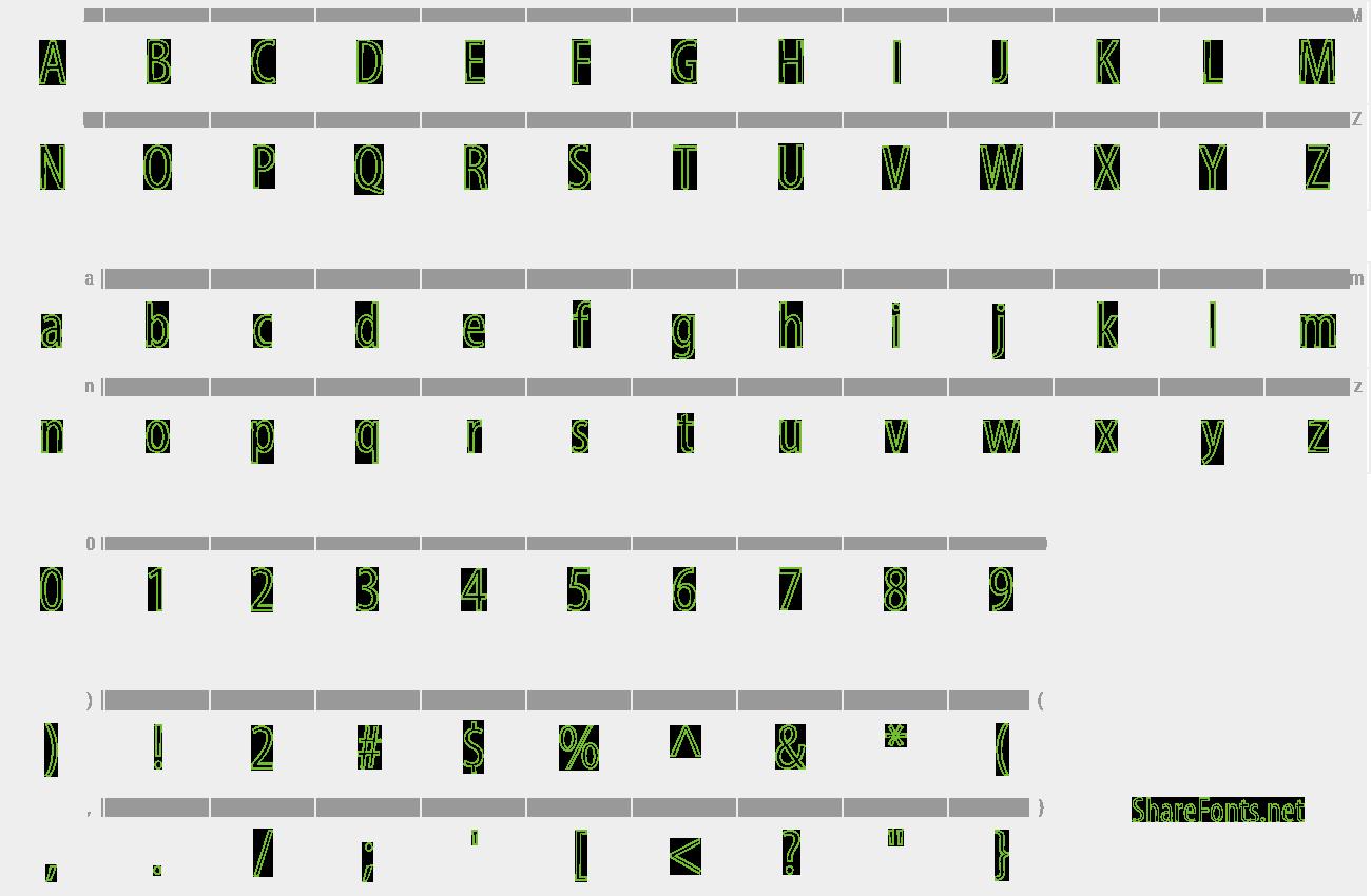 Download Free Font Myriad Std