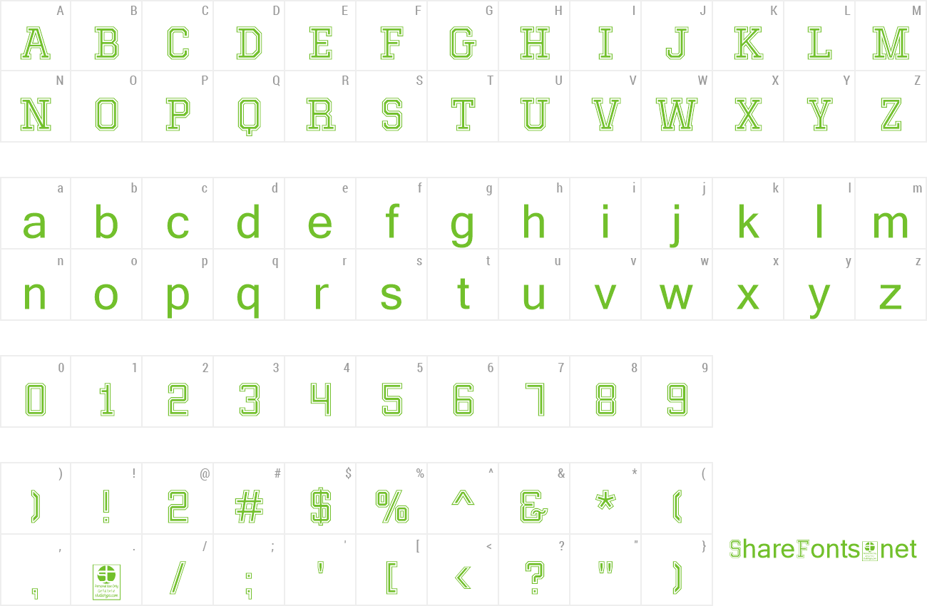 Font Mixiva preview