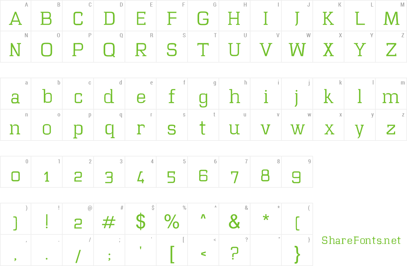 Font Mawi preview