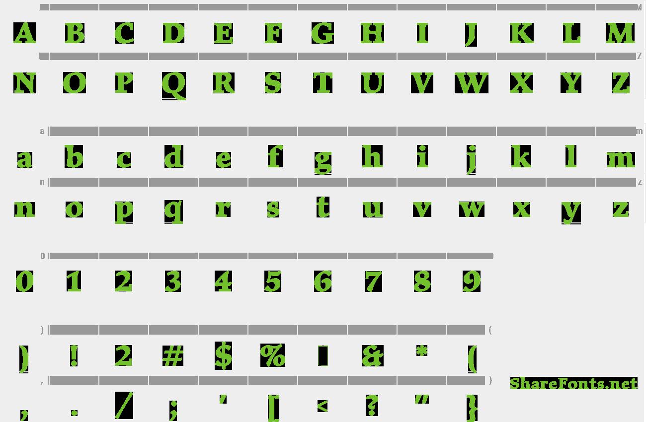 Download Free Font Elysium Bold