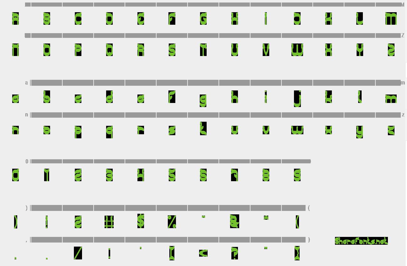 Download Free Font Green Tea