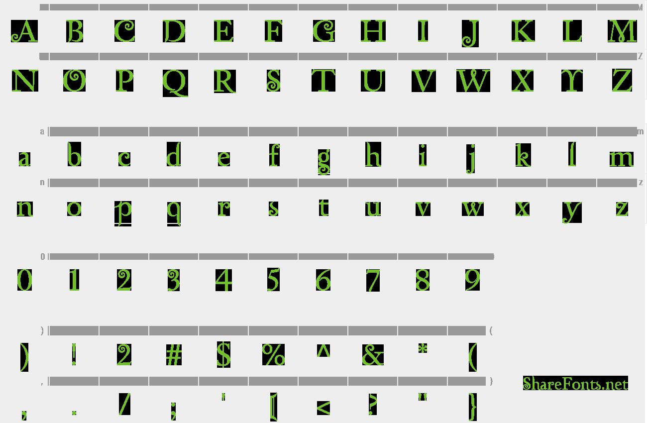 Download Free Font Zephyr
