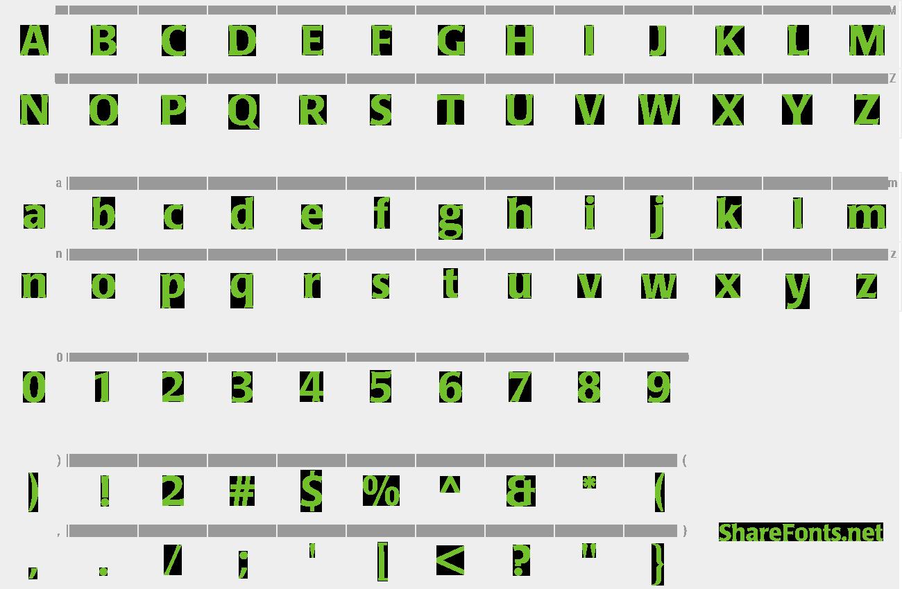 laudatio bq medium font