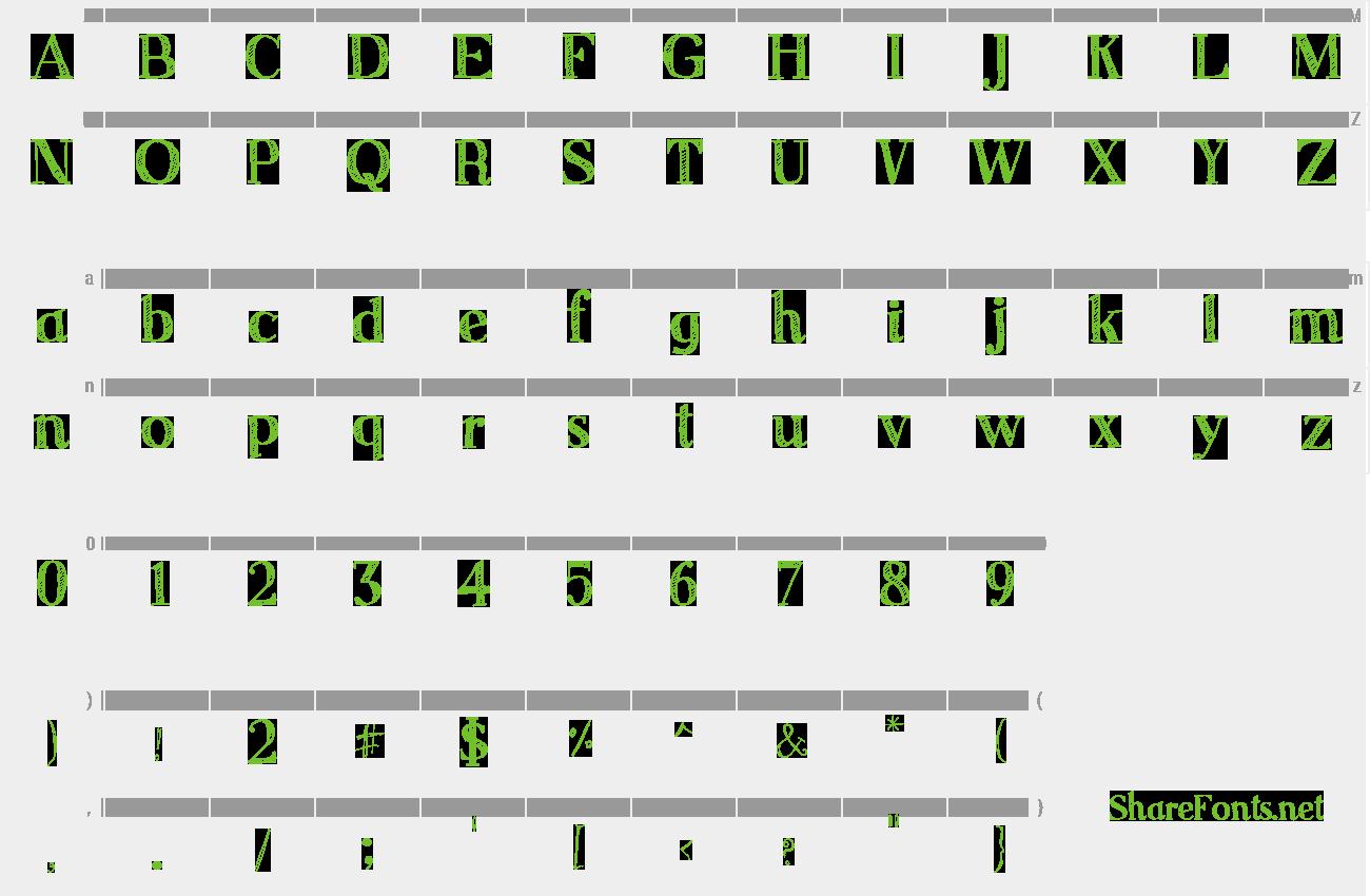 Download Free Font Sketch Serif