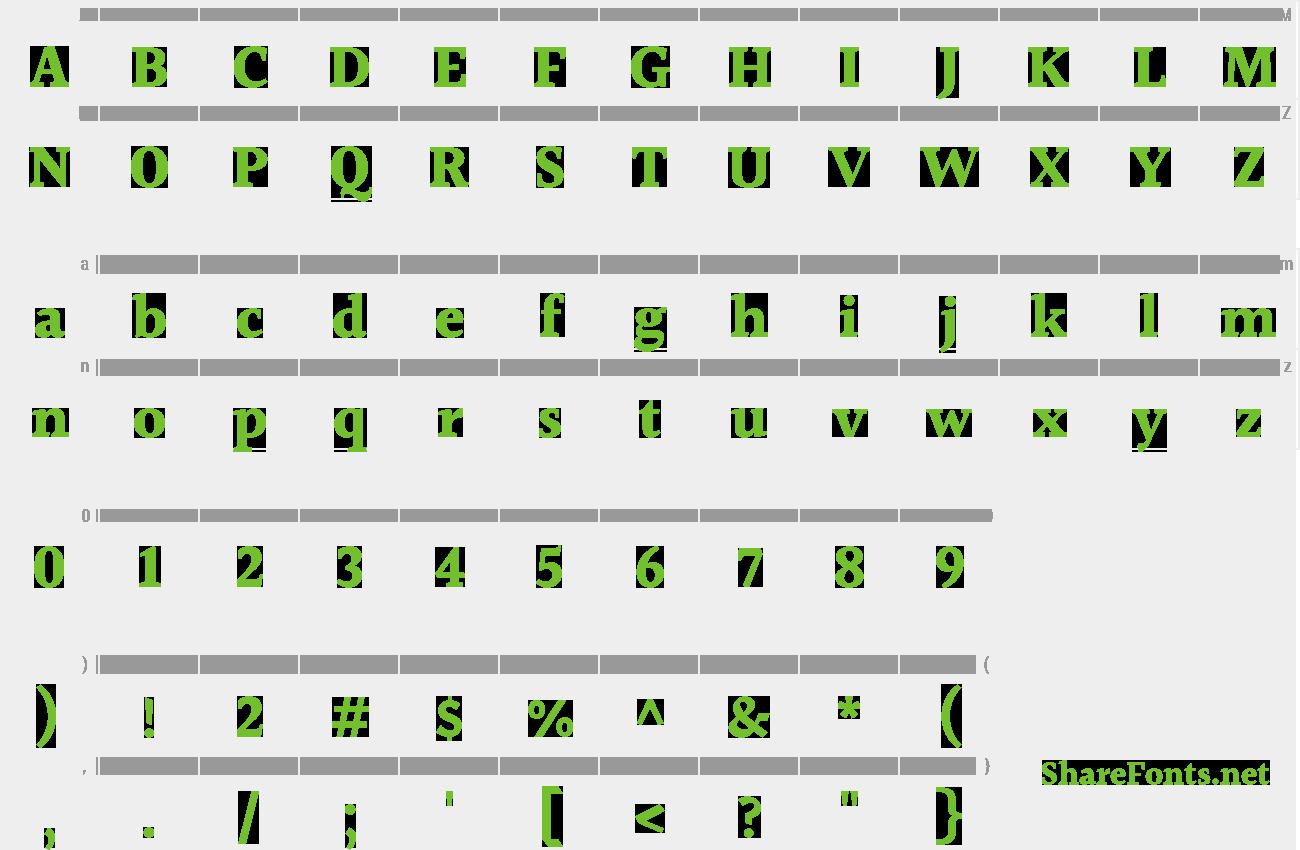 halant font
