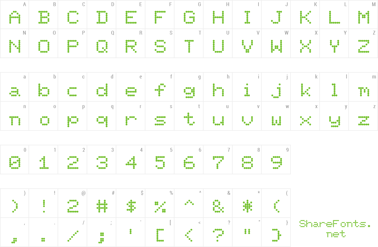 Download Free Font Terminal
