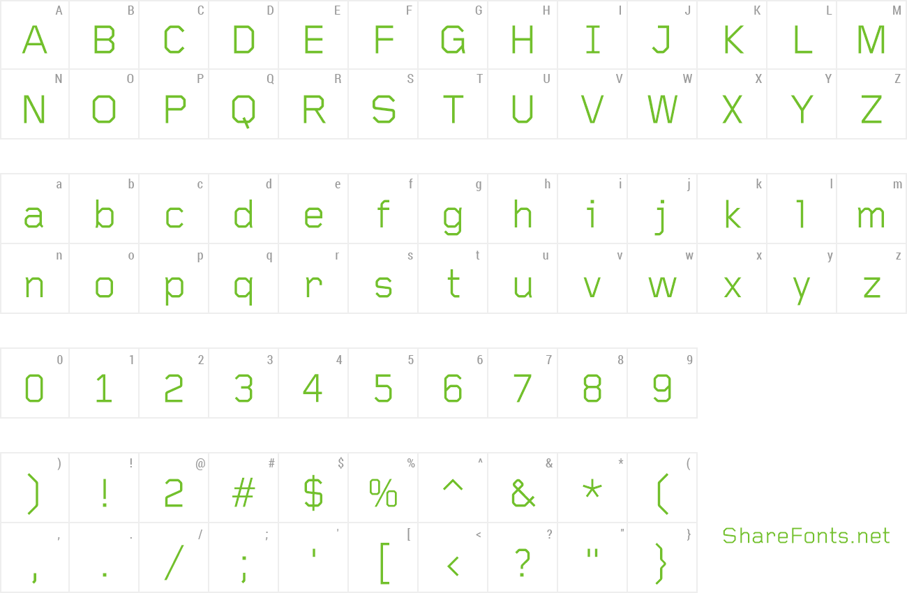 Font FoundryGridnik preview