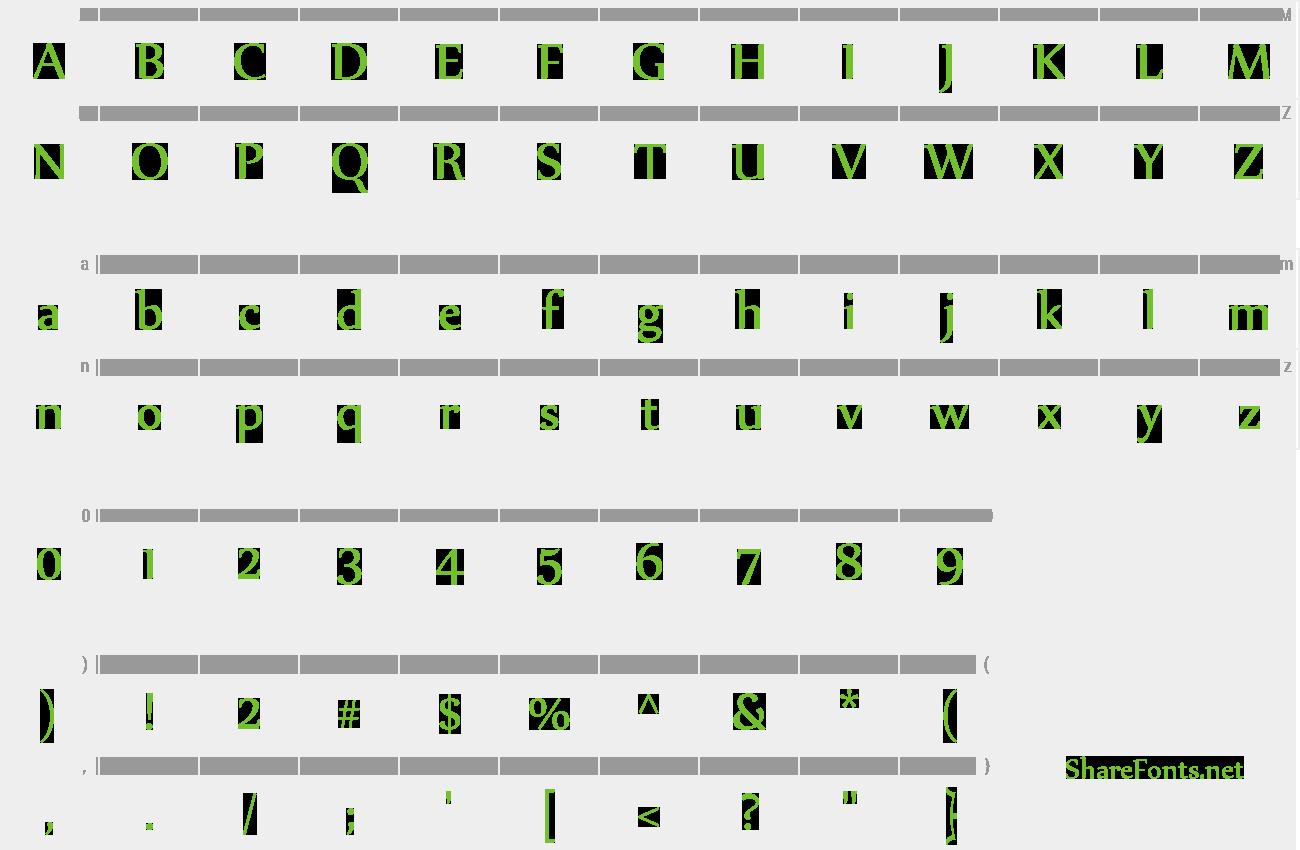 Download Free Font Nyala