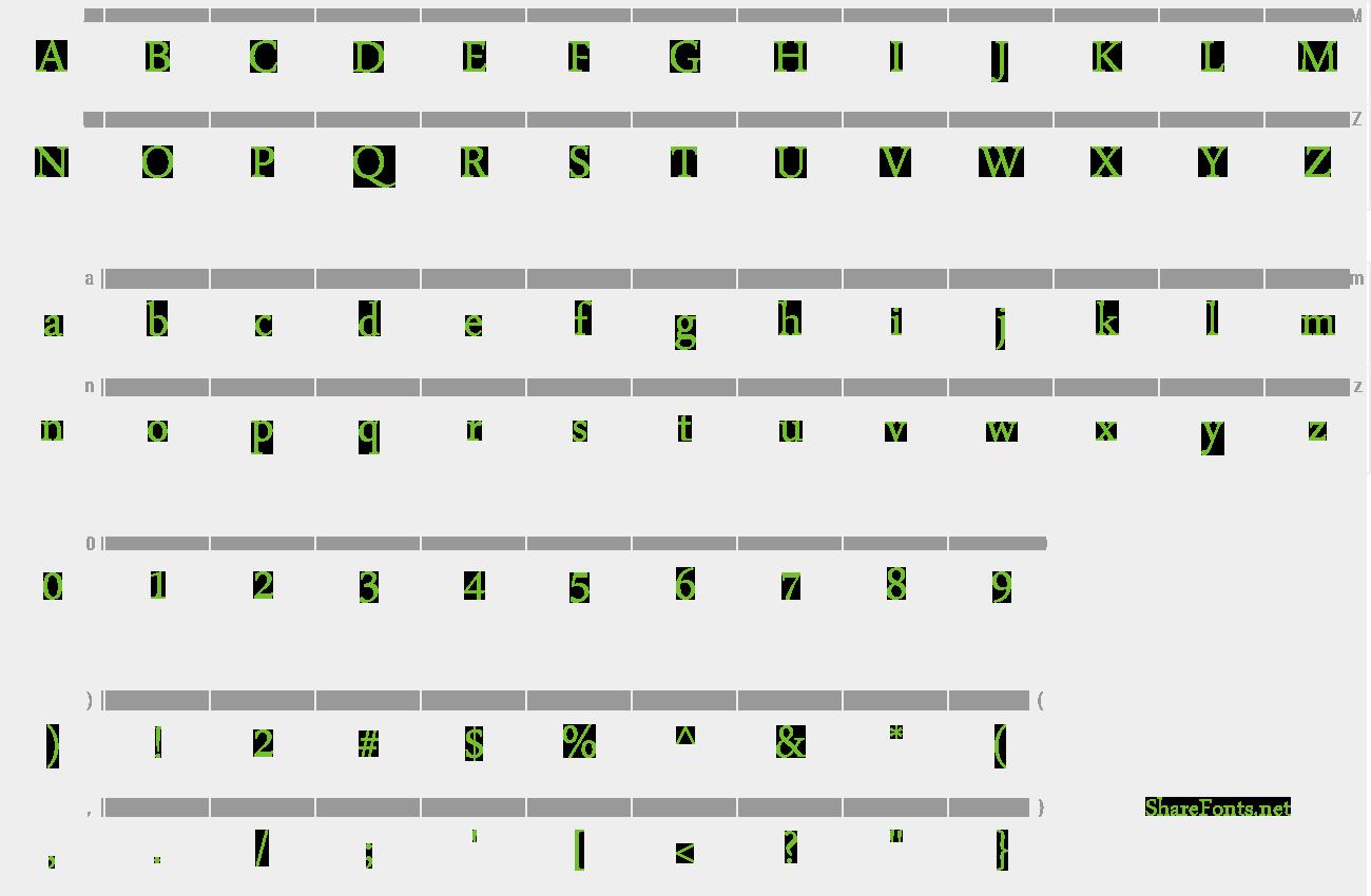 font arabic typesetting