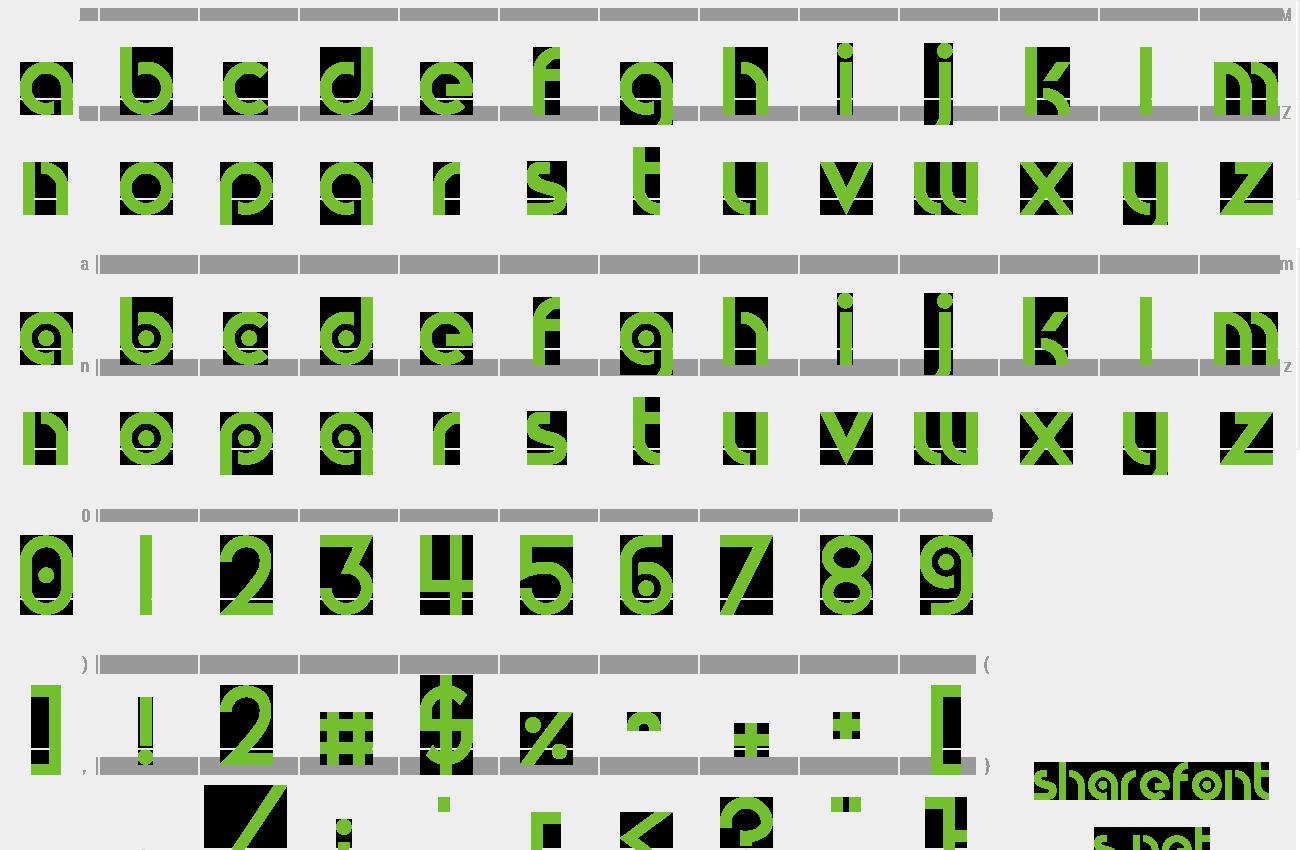 Download Free Font Circular Abstracts