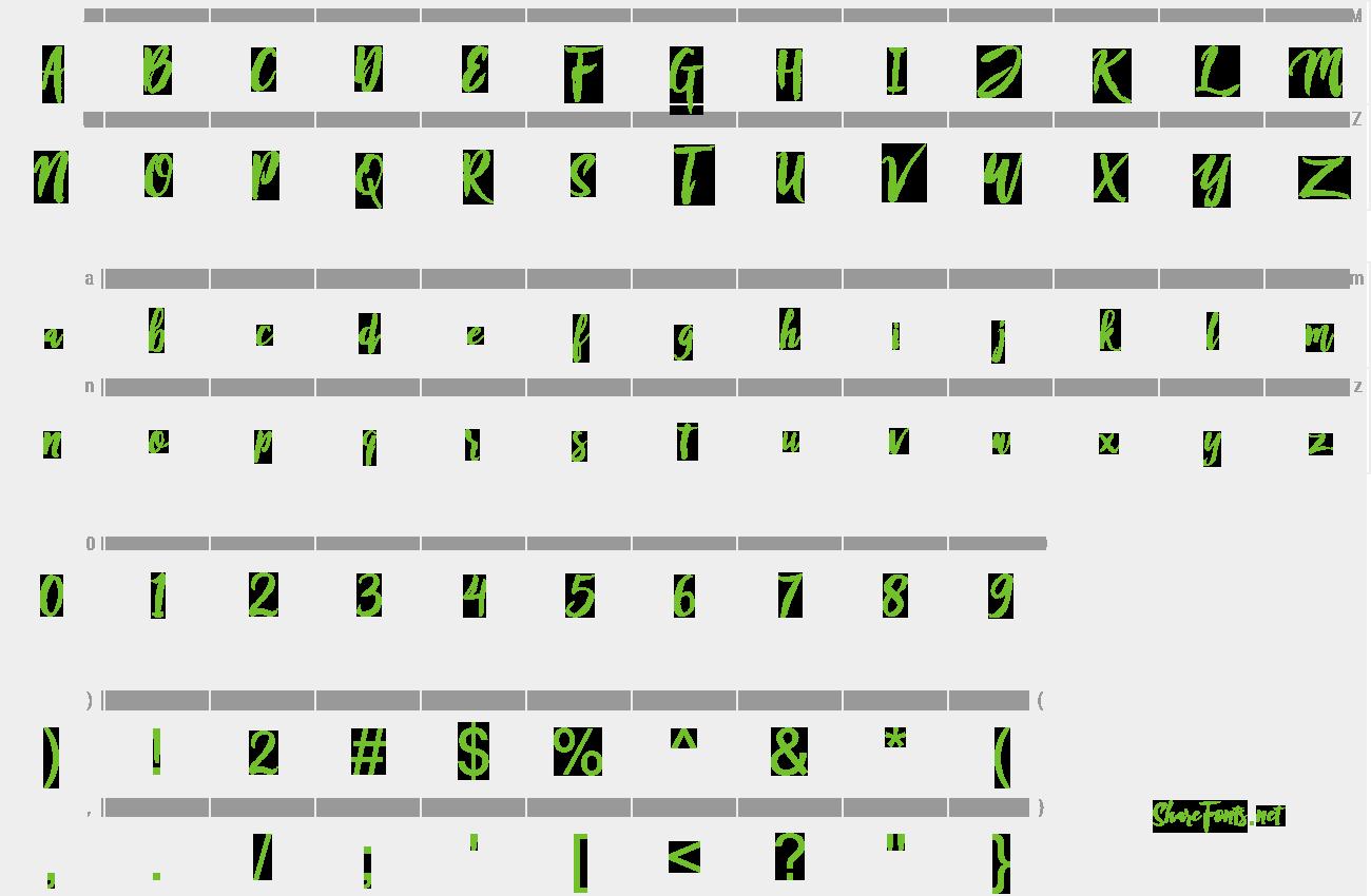 Download Free Font Rofitaste