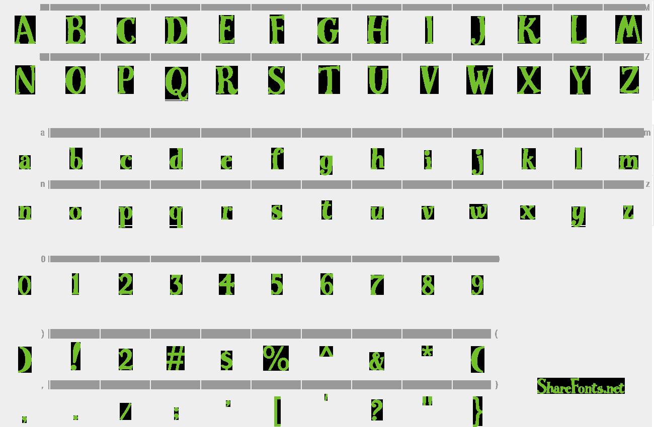 Download Free Font WG