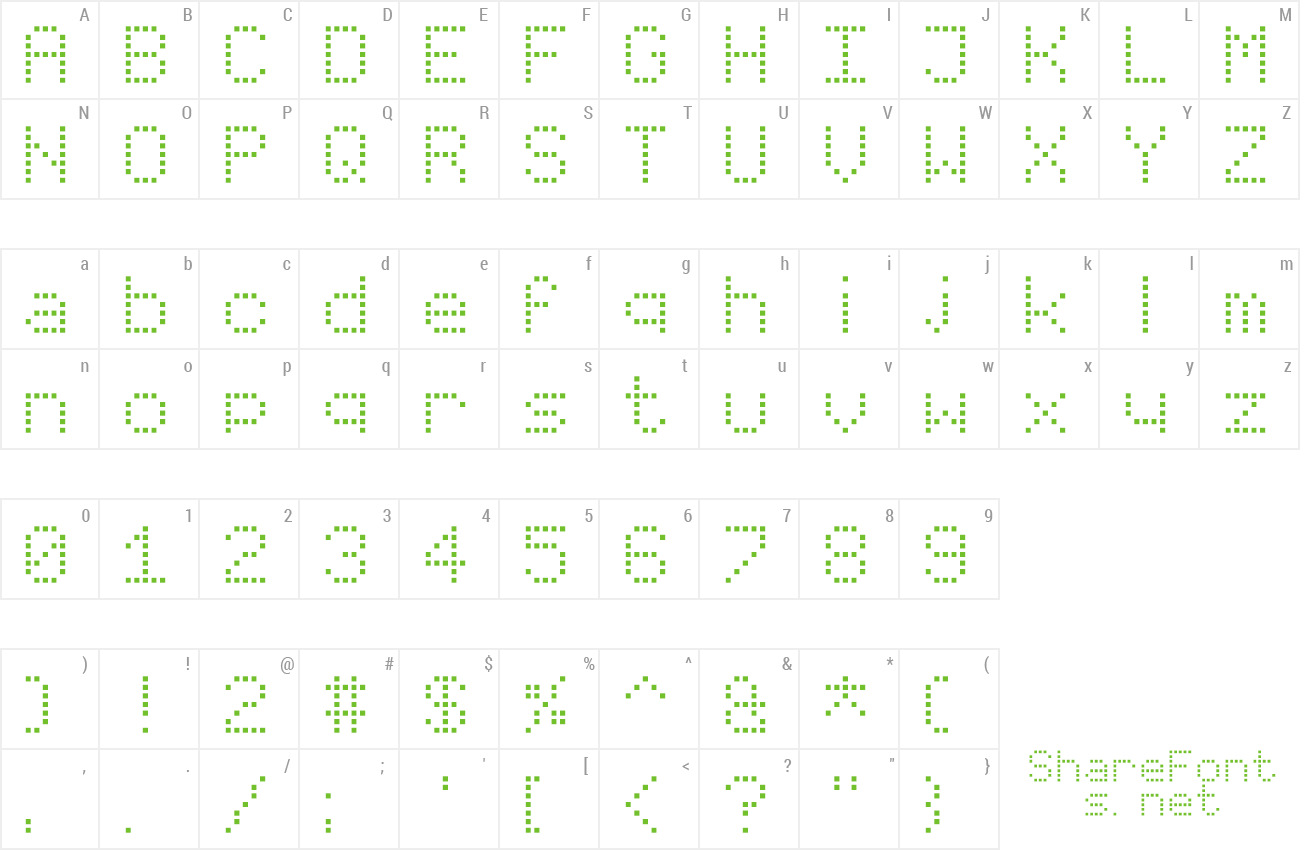 Font Virtual Pet Sans preview