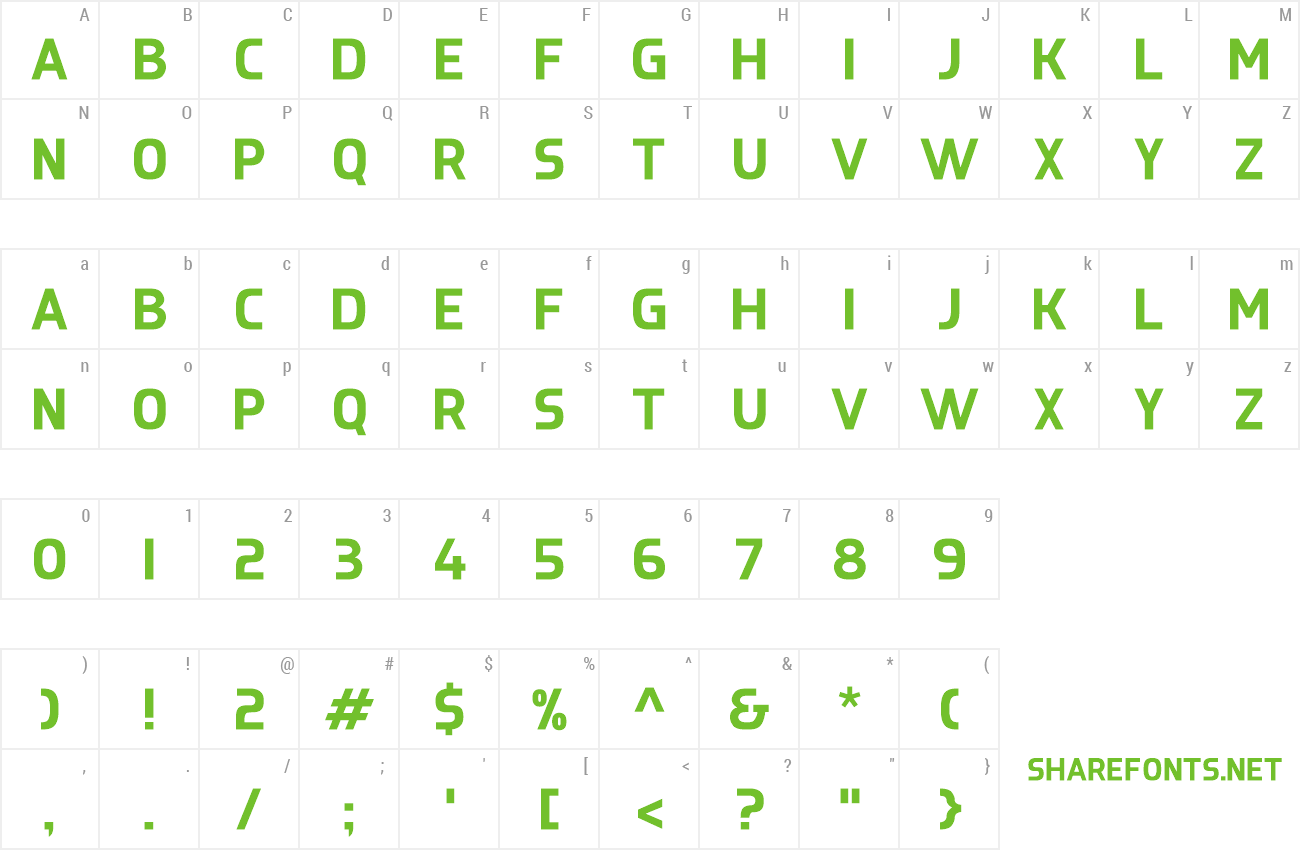 Font Rasaine preview
