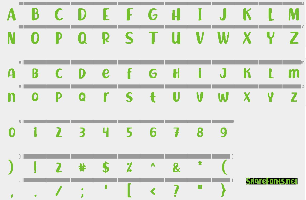 Download Free Font Richela Kids