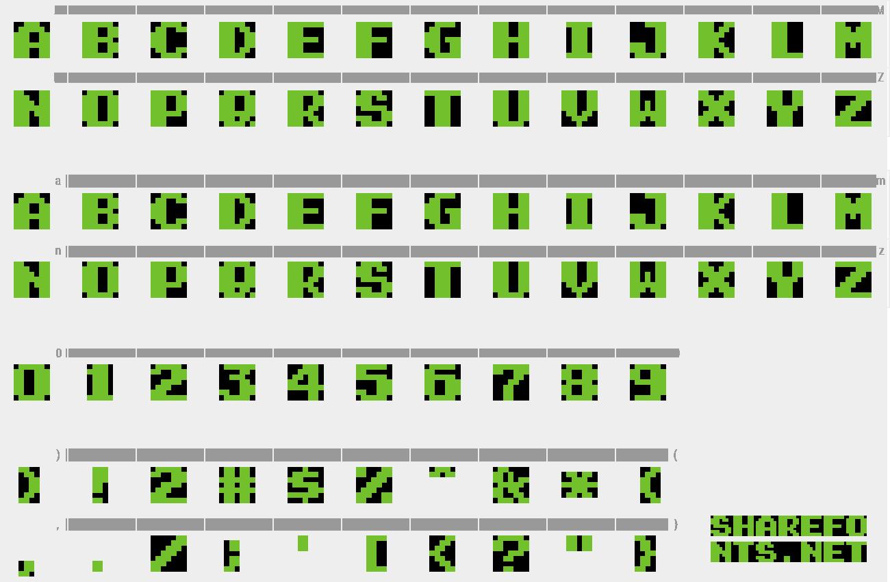 Download Free Font Super Mario Bros 2