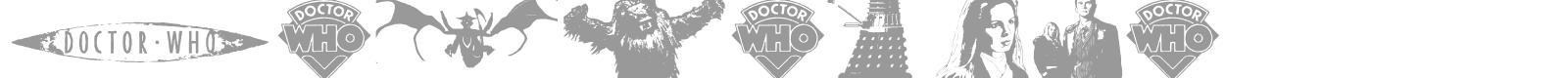 Font Doctor Who 2006
