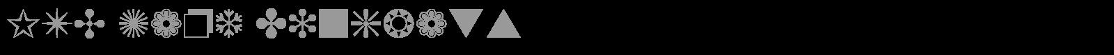 Zapf dingbats font for mac x
