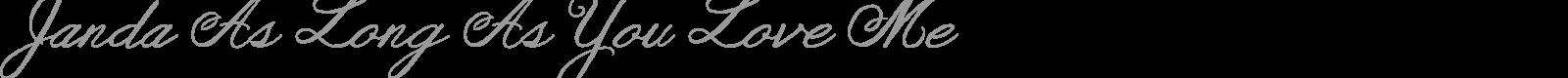Download Free Font Janda Celebration Script