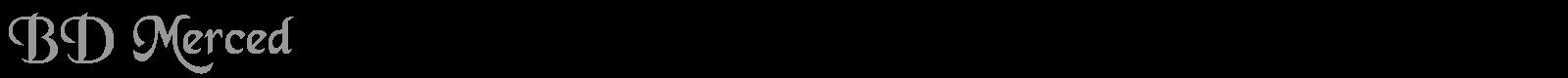 Bd Merced Free Font