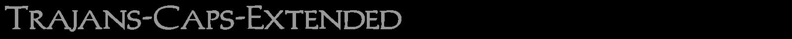 Download Free Font Trajan