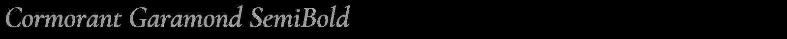 Download Free Font Cormorant Garamond